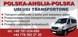 Ogloszenia UK Transport Polska-Anglia-Polska